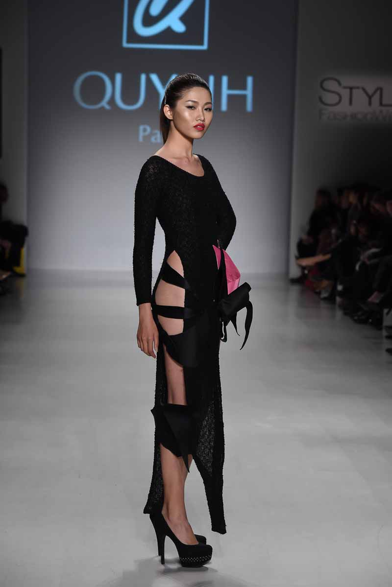 Quynh At Style Fashion Week Ny Presented By New York Life