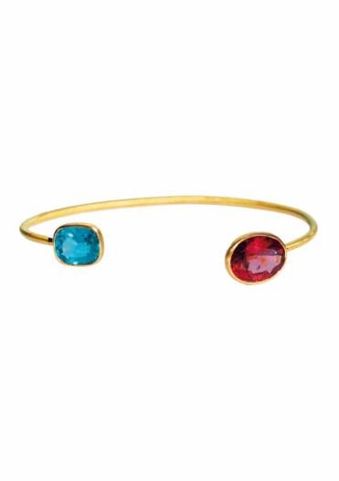 ILU1255 Bracelet Inséparable Tourmaline Apatite