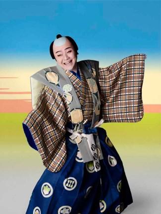Shochiku Kabuki Uniqlo artist (2)