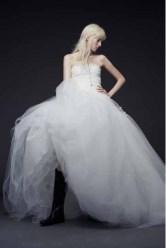 Vera Wang Bridal Fall 2015 Look 12