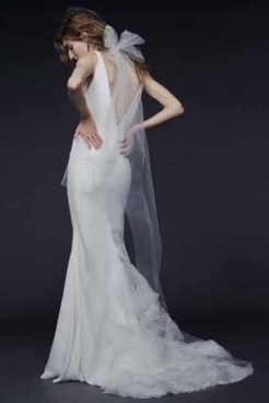 Vera Wang Bridal Fall 2015 Look 06