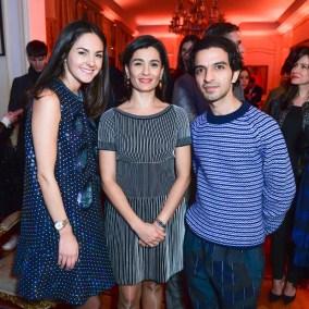 Brenda Díaz de la Vega, Katya Garcia-Lopez, Imran Amed