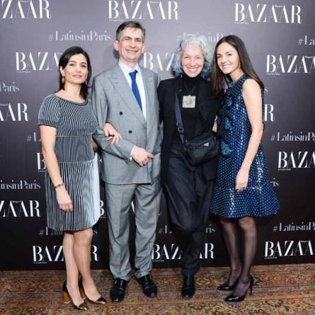 Brenda Díaz de la Vega, Kim Sinclair Bowden, Ambassador Agustin Garcia-Lopez, Katya Garcia-Lopez