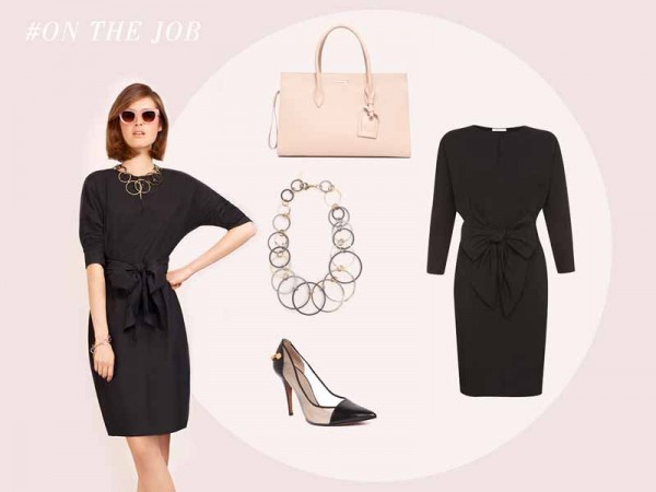 Paule Ka little black dress S15 (2)