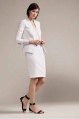 ann taylor the white suit