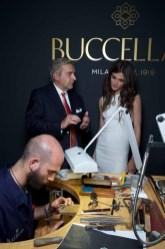 Andrea BUCCELLATI. Elisa SEDNAOUI . Buccellati. Opera Collection Event. Hotel Salomon de Rothschild. 6 july 2015 © david atlan