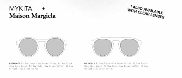 mykita margiela raw2