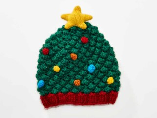 American Rag Christmas Tree Hat $20