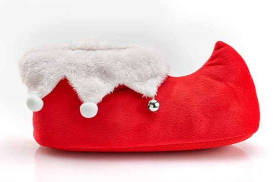 Club Room Elf Slippers $44.00