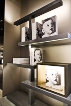 Set Up - book signing at Giorgio Armani boutique