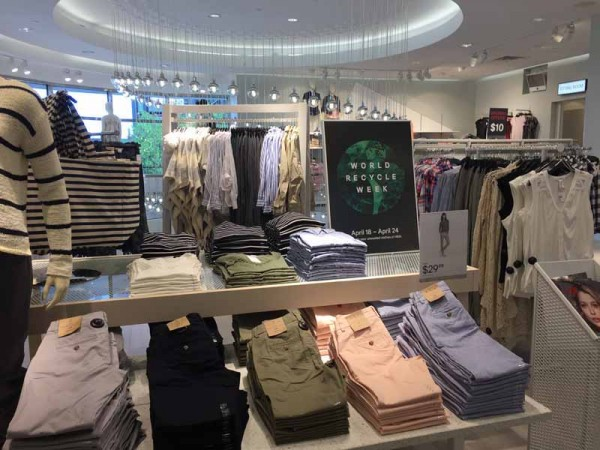 FORT WORTH Texas - 7 April 2016 - H&M opens its 32,000 sq. ft. store at Sundance Square in Fort Worth, Texas. (Photo by Mari Davis)