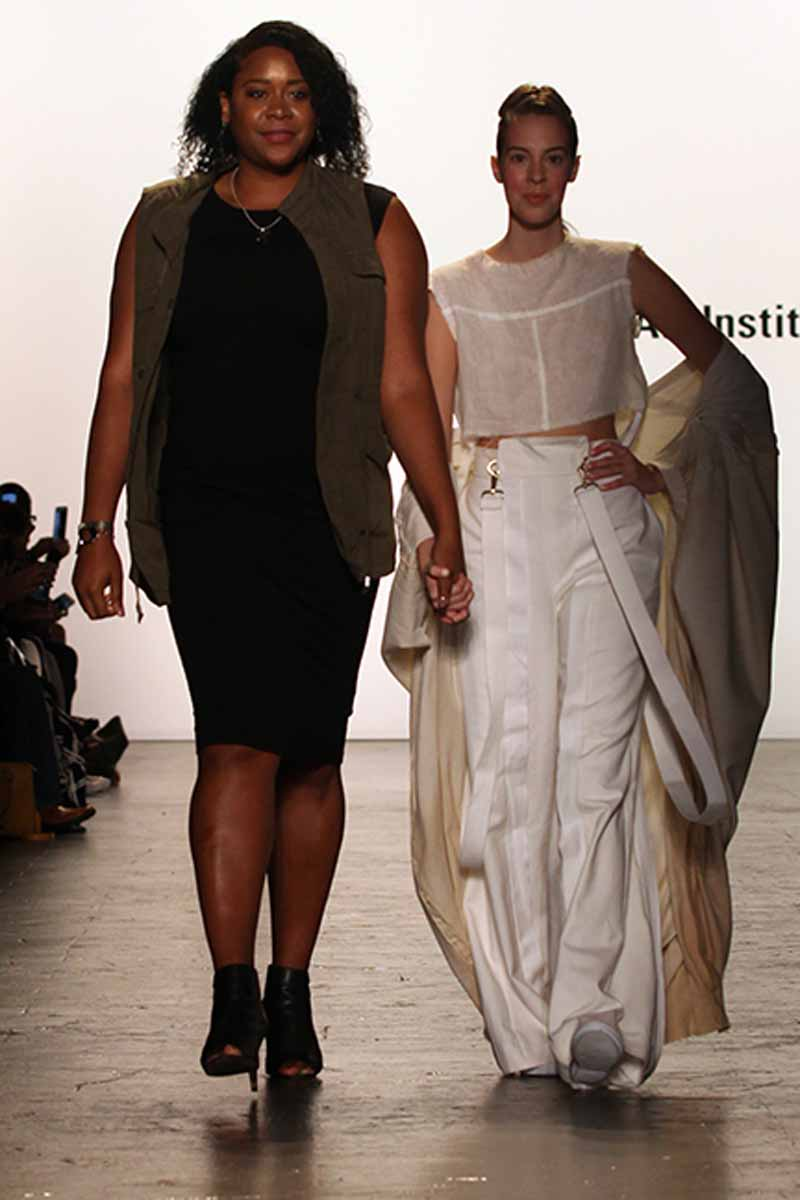 The Art Institutes At Nyfw Julissa Arrington The Art