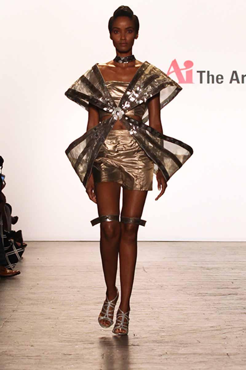 The Art Institutes At Nyfw Mimmy Begazo Miami International University Of Art Design Fashionwindows