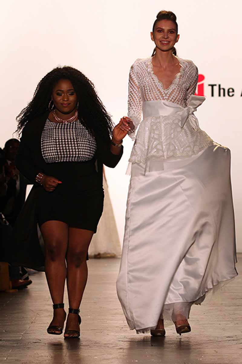 The Art Institutes At Nyfw Esther Ashiru The Art