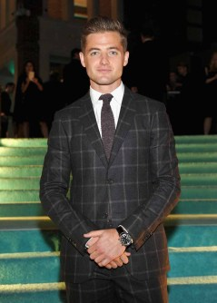 BEVERLY HILLS, CA - OCTOBER 13: Soccer player Robbie Rogers attends Tiffany & Co.'s unveiling of the newly renovated Beverly Hills store and debut of 2016 Tiffany masterpieces at Tiffany & Co. on October 13, 2016 in Beverly Hills, California. (Photo by Donato Sardella/Getty Images for Tiffany & Co.)