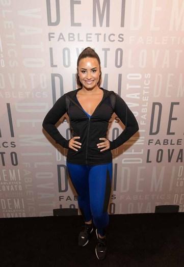 Demi Lovato at Fabletics (5)