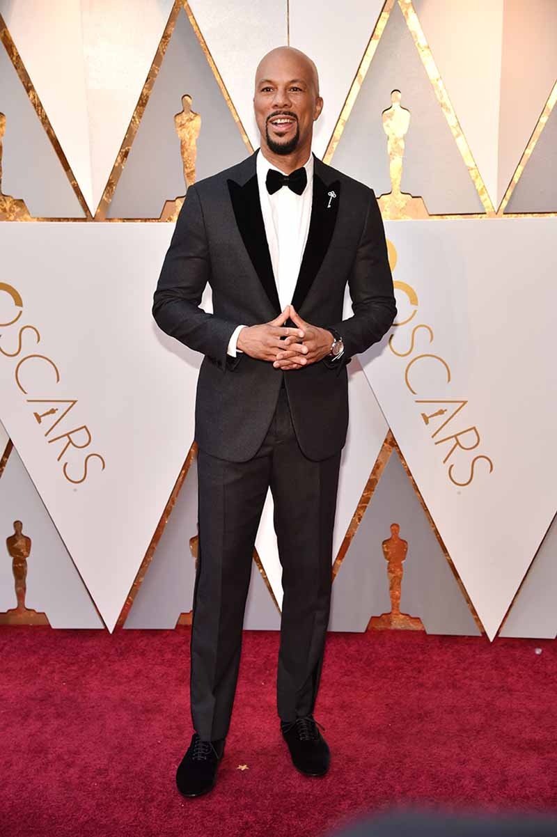HOLLYWOOD, CA - MARCH 04: Common attends the 90th Annual Academy Awards at Hollywood & Highland Center on March 4, 2018 in Hollywood, California. (Photo by Kevin Mazur/WireImage)