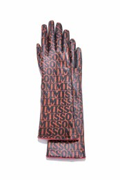 MISSONI ALL-OVER_The Leather Gloves