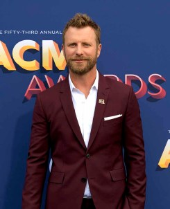The 53rd Academy of Country Music Awards red carpet is held at the MGM Grand Garden Arena on the Las Vegas Strip. Here singer/songwriter and nominee for Video of the Year Dierks Bentley walks the ACM red carpet. Sunday, April 15, 2018. CREDIT: Glenn Pinkerton/Las Vegas News Bureau