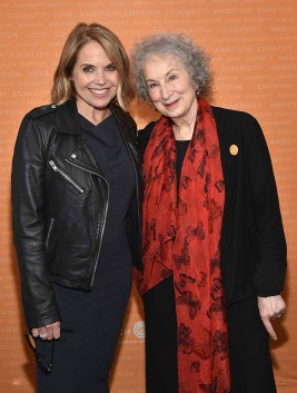 Journalist Katie Couric and Writer Margaret Atwood