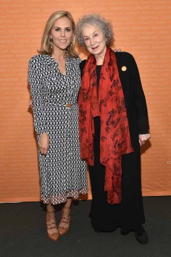 Tory Burch speaks onstage during The Tory Burch Foundation 2018 Embrace Ambition Summit at Alice Tully Hall on April 24, 2018 in New York City. *** Local Caption *** Tory Burch
