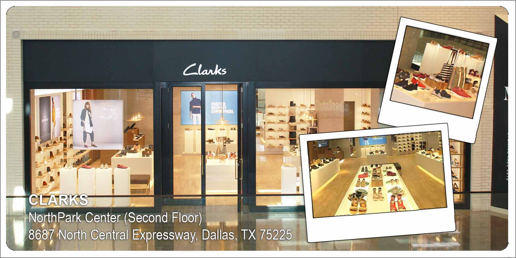 hot product shop best sellers top quality Clarks Unveils Pure Store Format At Dallas Northpark Center ...