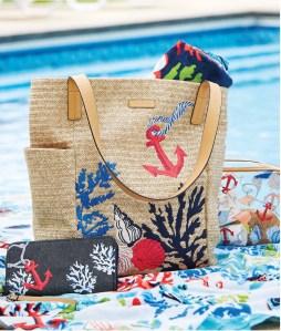 Vera Bradley Spring 2019 straw bag