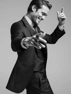 Maxime Daunay for Giorgio Armani Made to Measure