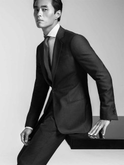 Zhao Lei for Giorgio Armani Made to Measure
