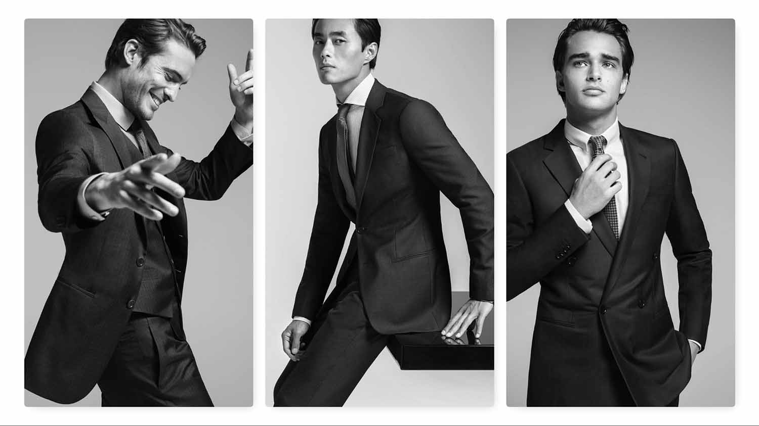Giorgio Armani Made To Measure Unveils Spring / Summer 2019 Ad Campaign