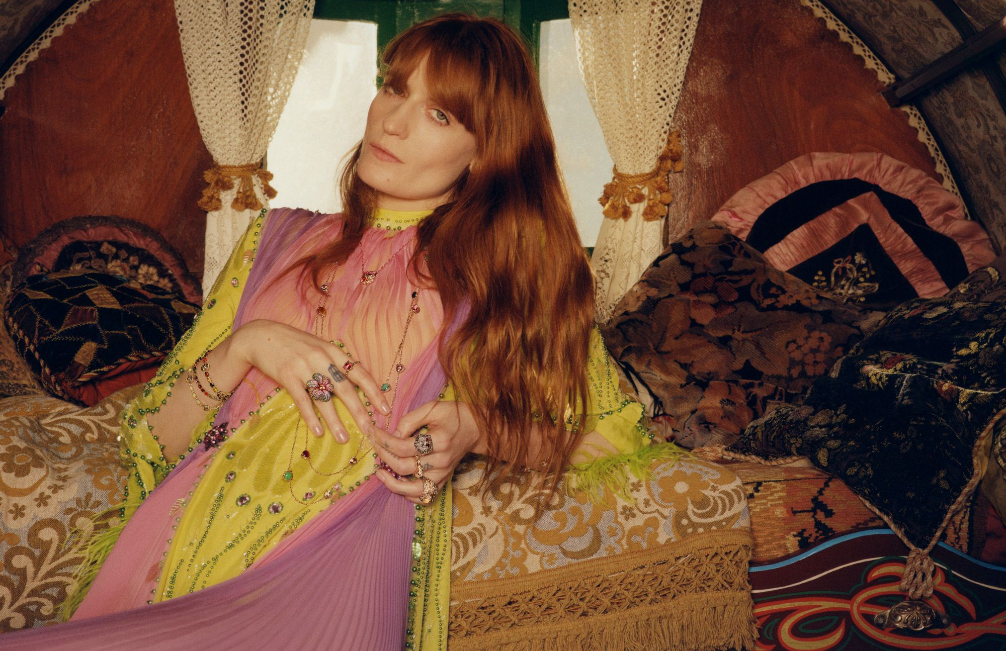 Florence Welch Stars In The New Gucci Jewelry Campaign
