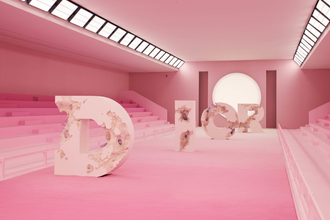 """Future Relics"" Daniel Arsham Gives Dior The Treatment"