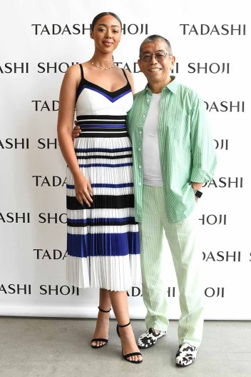 Tadashi Shoji Spring Summer 2020 - Backstage - New York Fashion Week: The Shows
