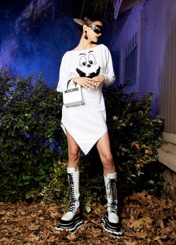 moschino spooky couture