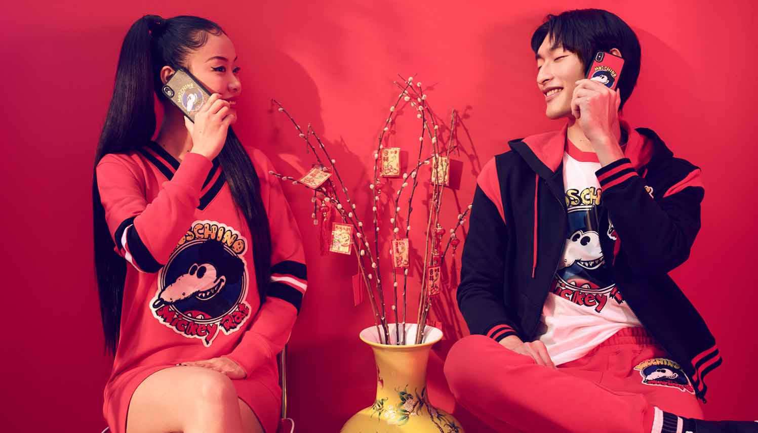 Moschino Chinese New Year 2020 Capsule Collection Features Mickey Rat