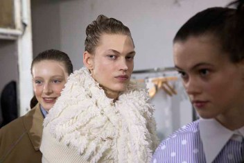 Backstage Dawei Fall 2020