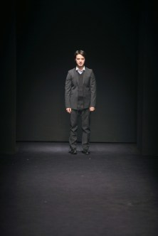 Gabriele Colangelo on the runway
