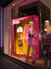 Barbie Store Window at Collete Paris