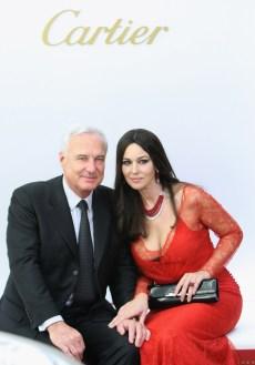 Monica Bellucci and Bernard Fornas