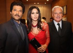 Monica Bellucci; Bernard Fornas; Anil Kapoor
