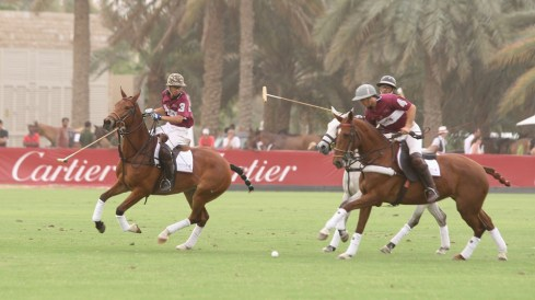 Emirates NDB compete against Qatar