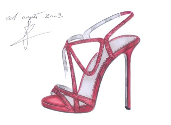 Sergio Rossi Red Carpet 2009 Limited Edition