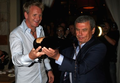 Sol Kerzner and Gordon Ramsey