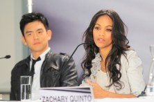 John Cho and Zoe Saldana