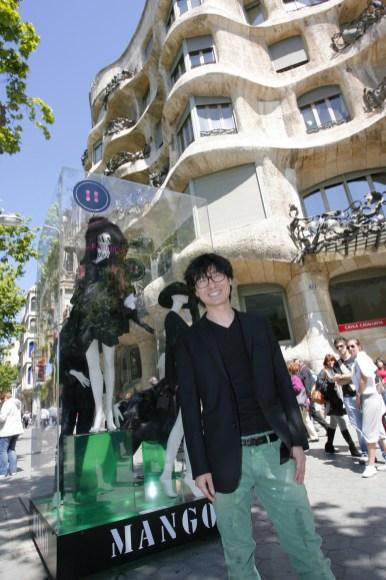 Jin Youn Lee Wins the El Boton - Mango Fashion Award