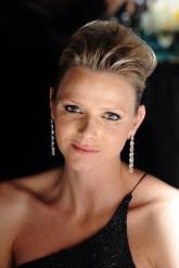 Charlene Wittstock in Cartier jewellery