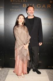 Alessandra and Fabrizio Ferri