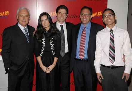 Bernard Fornas;Demi Moore;Frederic de Narp;Alan Khazel;Thomas Cr