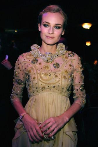Diane Kruger, ambassador of Jaeger-LeCoultre, attends the show at the Cesar Film Awards