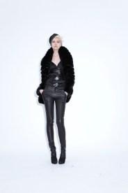 Jacket Milana Mink on Silk Jersey